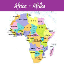 German Vocabulary: African Countries in German