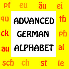 Advanced German Alphabet- Double Vowels and Consonants