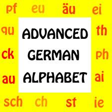 Advanced German Alphabet- Double Vowels and Consonants