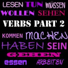 Vocabulary: Important German Verbs Part 2