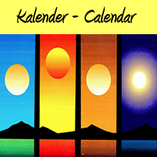 German Vocabulary - All about Calendar