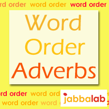 German Word order with Adverbs