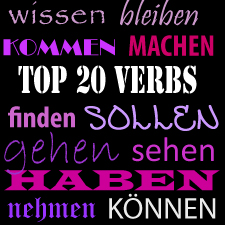 Top 20 German Verbs