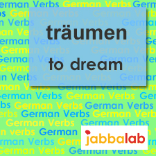 The German Verb träumen - to dream