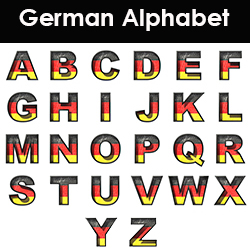 Pronouncing the German Alphabet with Video