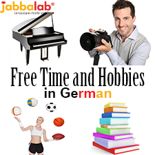 German Vocabulary - Free Time and Hobbies with Video