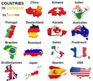 German Vocabulary - Countries and Nationalities with Video