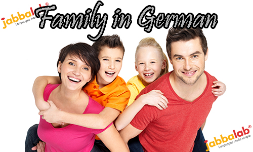 German Vocabulary - Family with Video