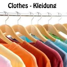 German Vocabulary: All about clothes