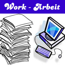 German Vocabulary: All about work