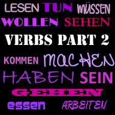 Vocabulary: Important German Verbs Part 2