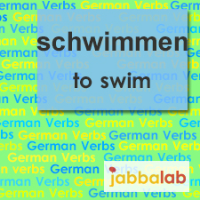 The German verb schwimmen - to swim