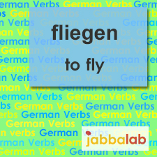 The German verb fliegen - to fly