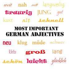 Top 20 German Adjectives
