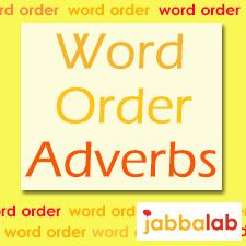 German Word order with Adverbs