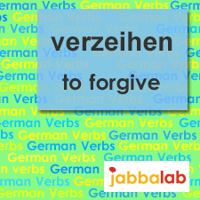 The German verb verzeihen - to forgive