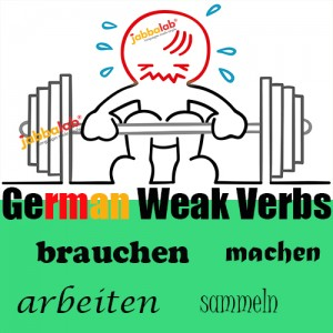 German Weak Verbs with Video