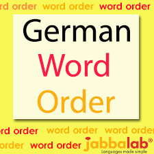 German Word Order with Video